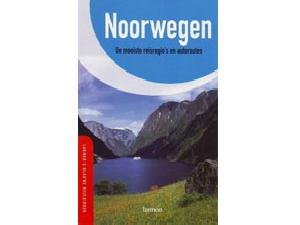 Blauwe reisgids noorwegen